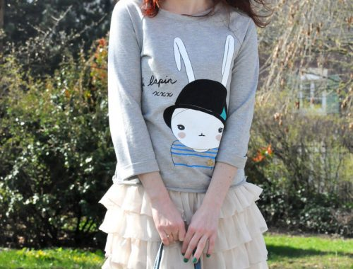 Sweat Fifi lapin blog mode