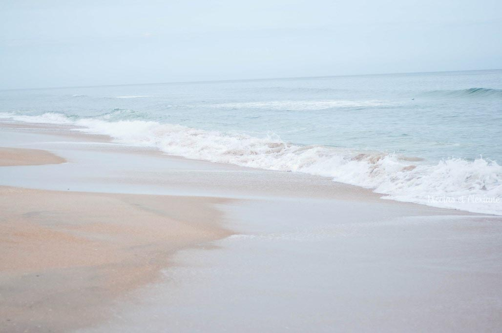 Plage sable orange ROAD TRIP blog voyage Nicolas et Alexiane (1)
