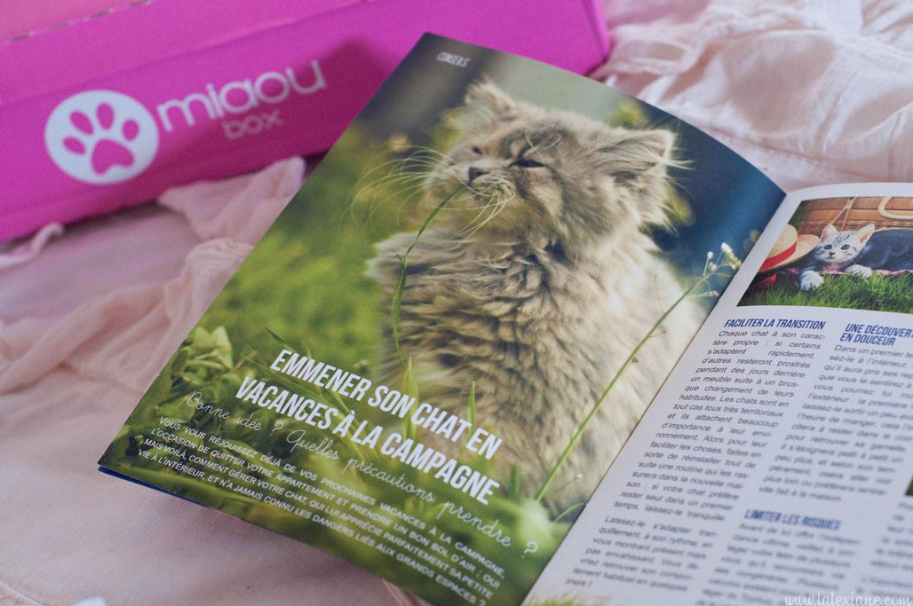 Plume Miaoubox avril 2014 test box chat blog mode Alexiane (9)