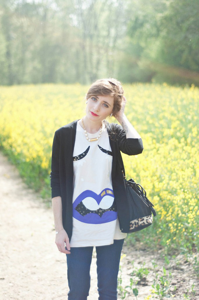 Look champ jaune Alexiane blog mode (11)