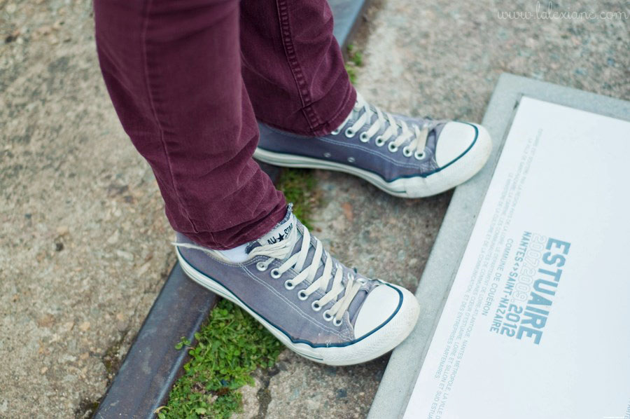 Converses look mode homme
