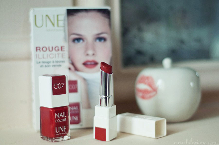 Kit rouge illicite UNE beauty