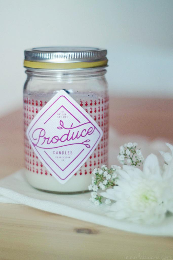 Bougie radis Produce Candles