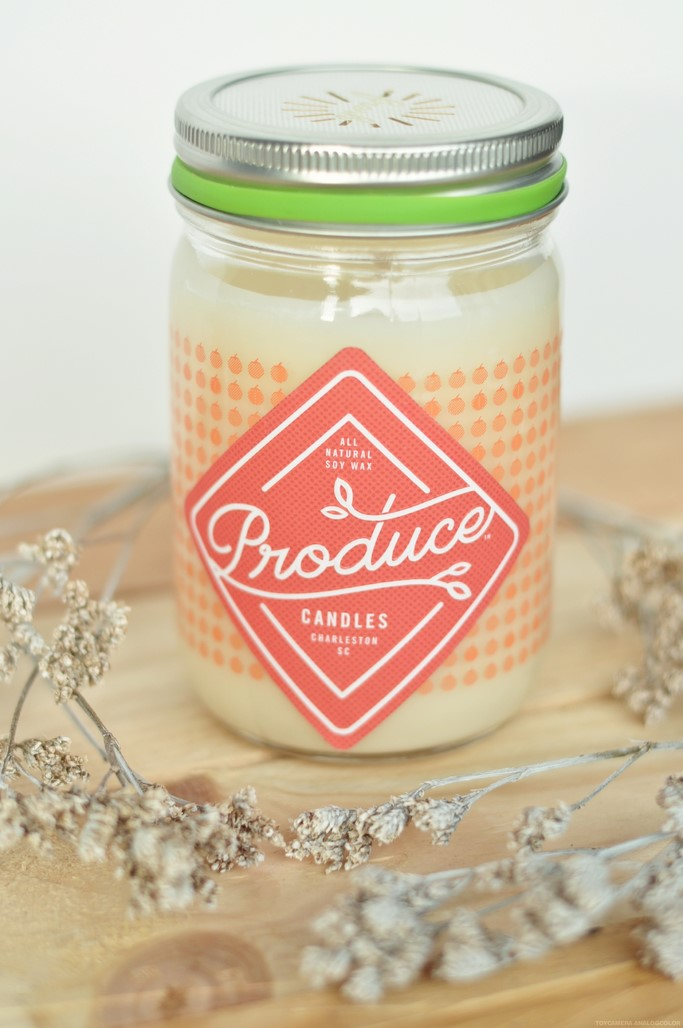 Bougie tomate Produce Candles