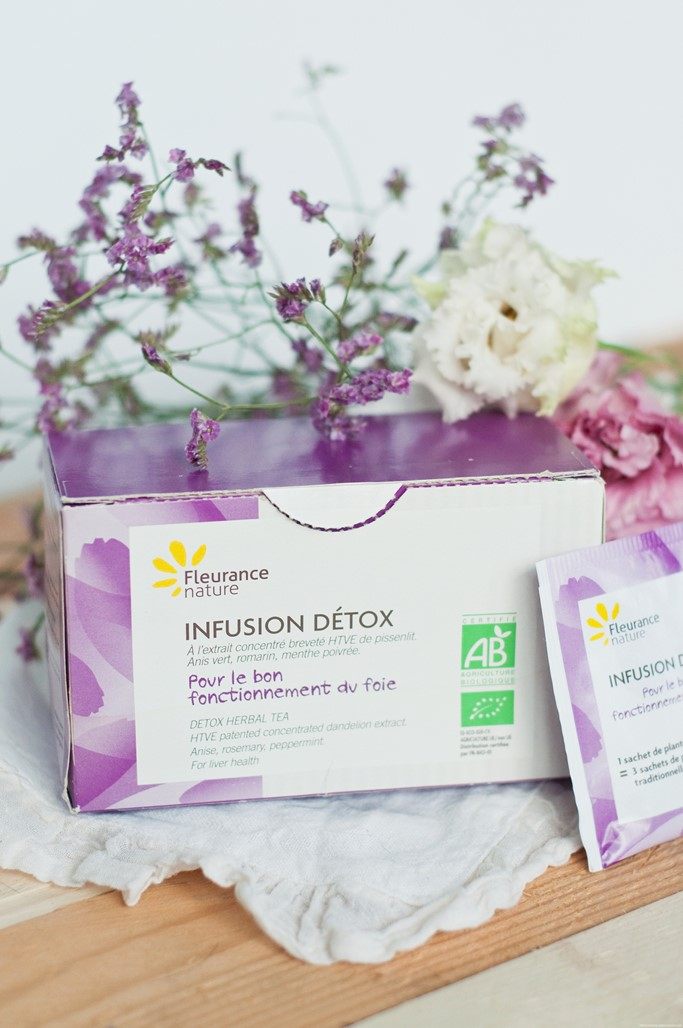 Infusion detox Fleurance Nature