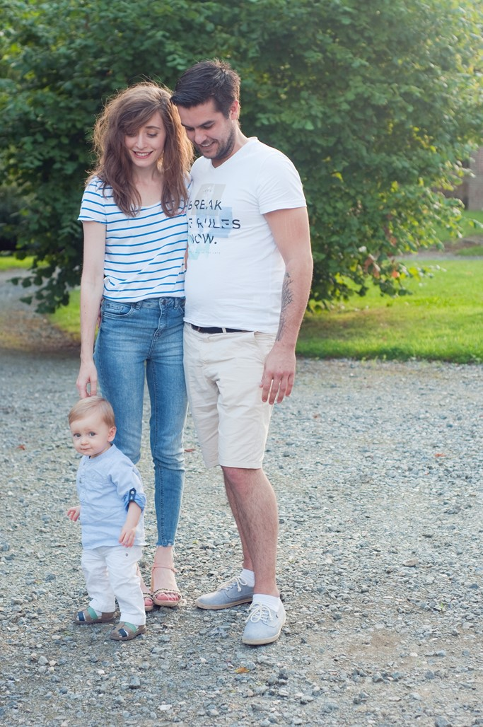 Famille couple bebe parents Alexiane blog mode Maman