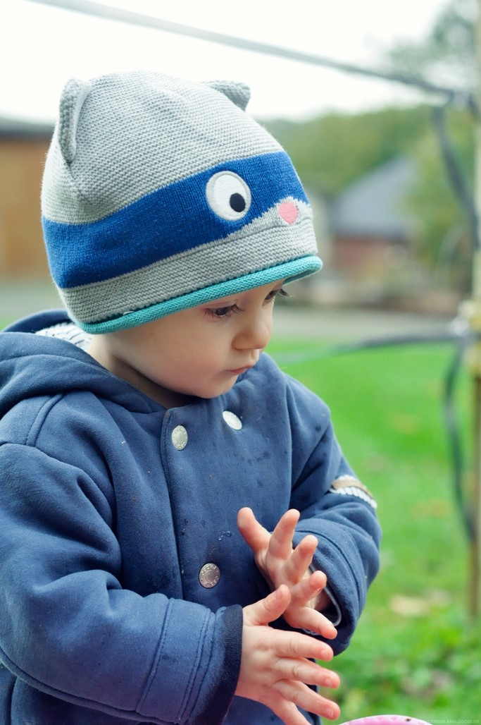 Baby look automne bonnet chat blog Maman Alexiane
