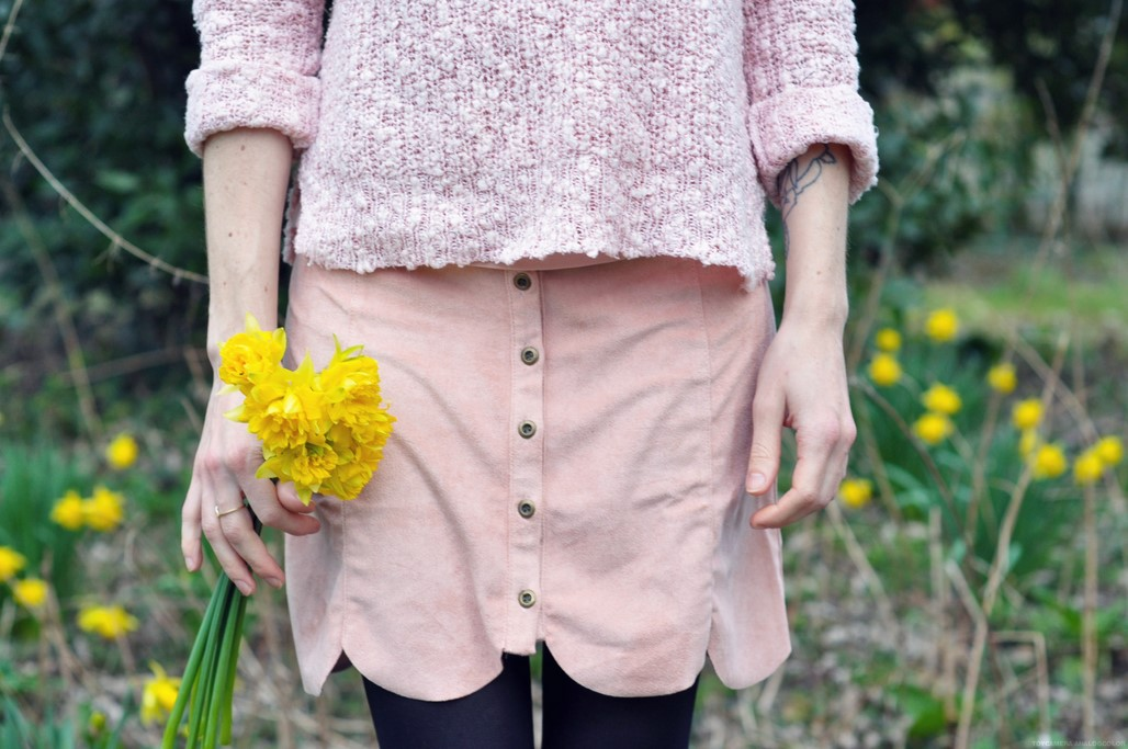 Look rose femme blog Maman mode Alexiane