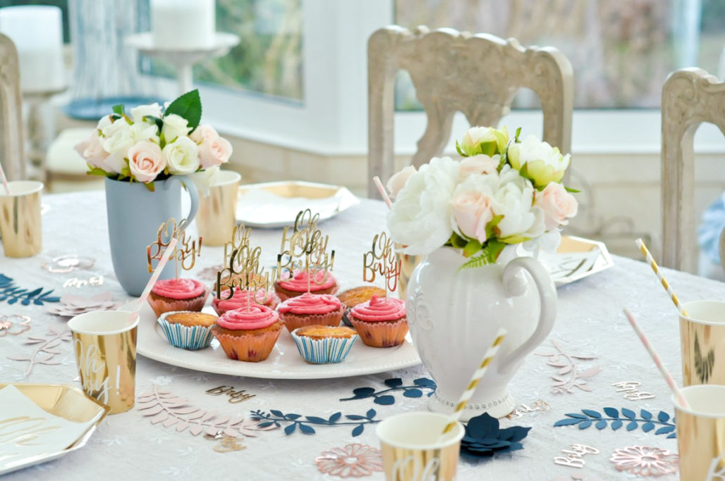 Décoration table Gender reveal party Baby shower blog Maman Alexiane