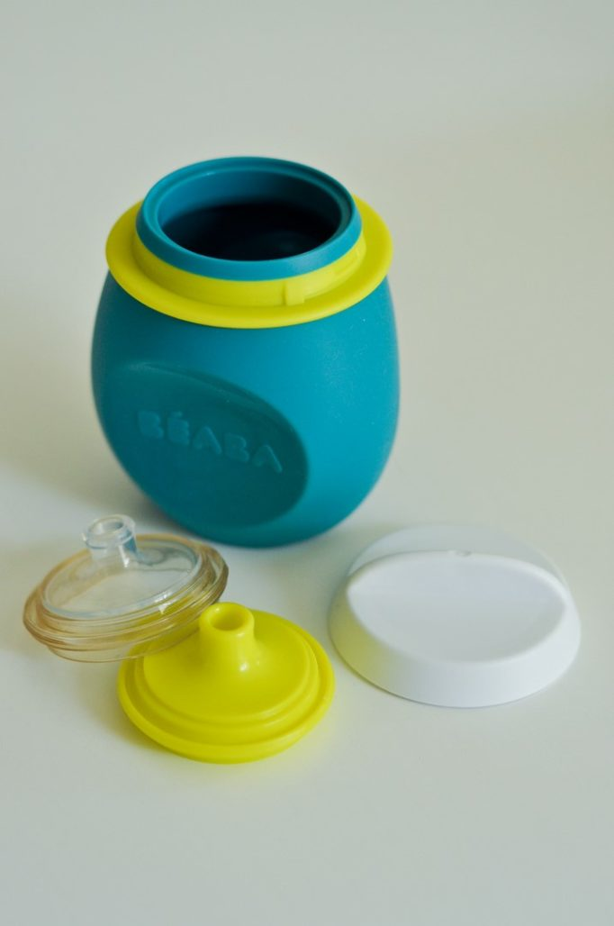 Gourde BabySqueez portion Béaba alimentation bébé enfant blog Maman Bande de parents Alexiane